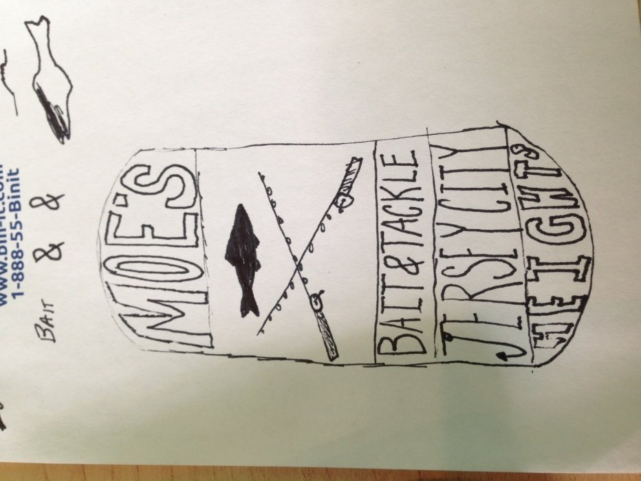 Moes bait and Tackle Jersey city heights - student project