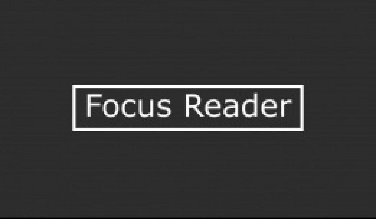 Focus Reader - student project