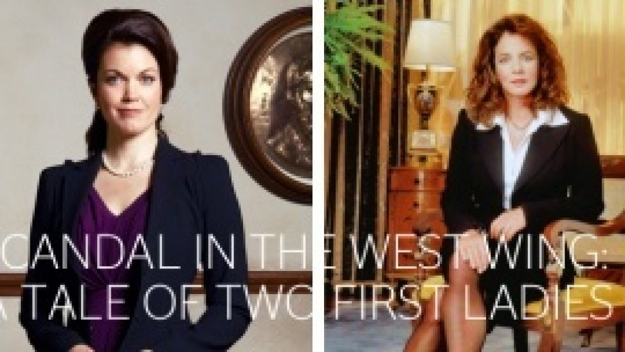 Scandal in the West Wing: A Tale of Two First Ladies - student project