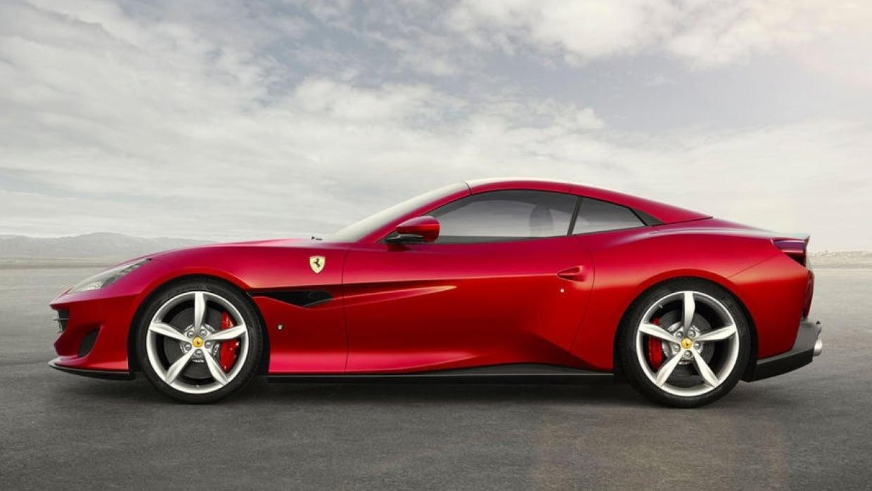 Sketch the Ferrari Portofino - student project