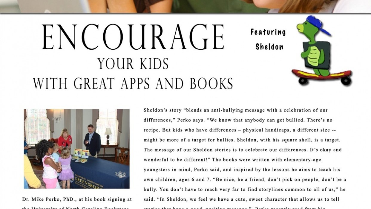 Stuffed Books: Encourage, Inspire, Motivate - student project
