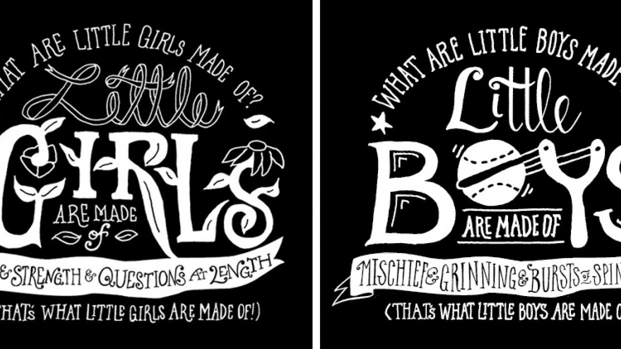 What boys & girls are made of - student project