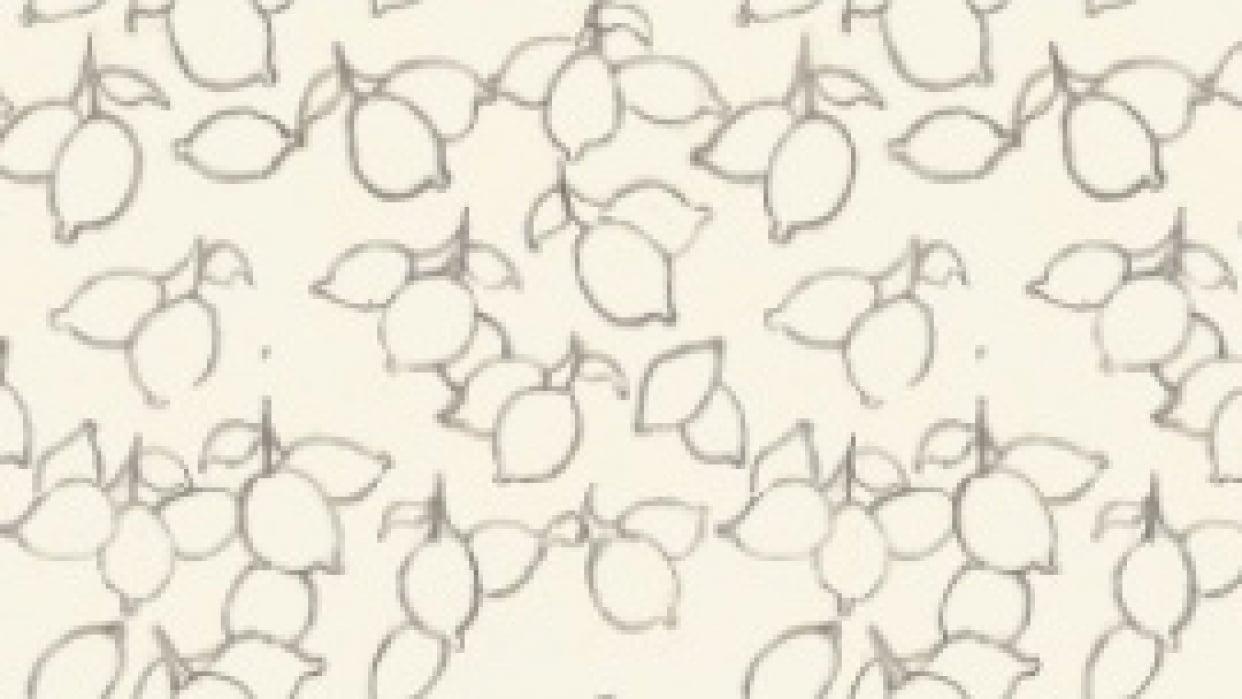 lemon pattern  - student project