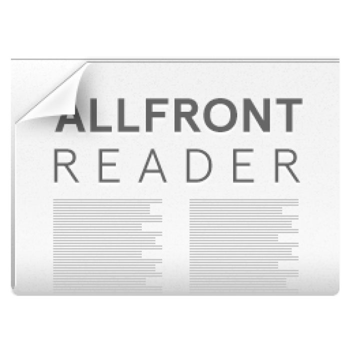 Allfront Reader - student project