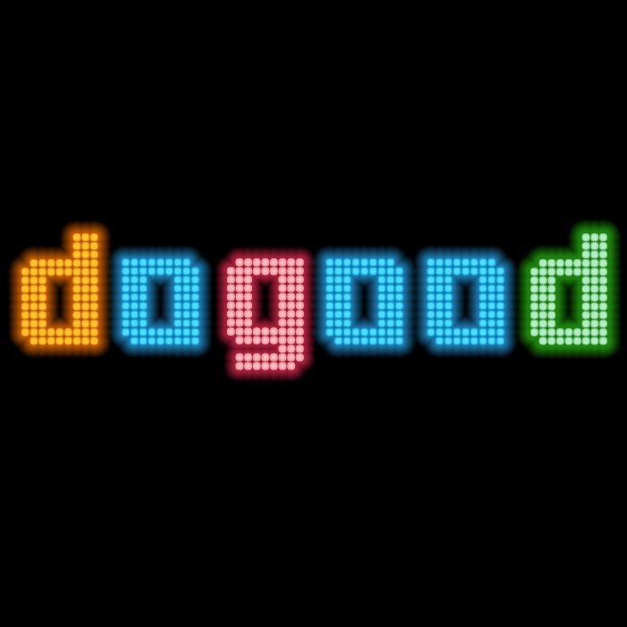 DoGood Neon Lights - student project