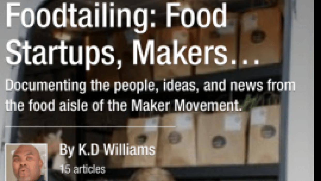 Foodtailing: Food Startups, Makers and Entrepreneurs (previously Under Disruption) - student project