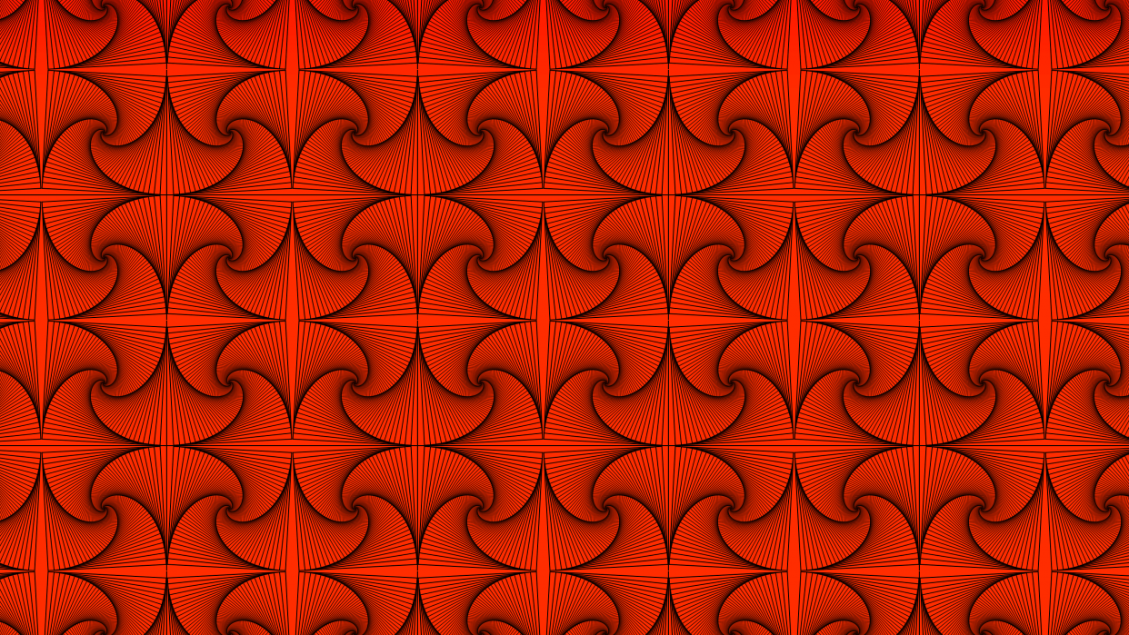 Whimsical Rotated Pattern (nearly) - student project
