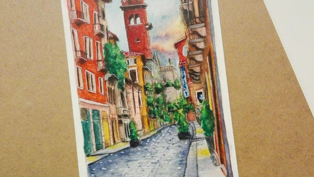 Urban Sketching Project - student project