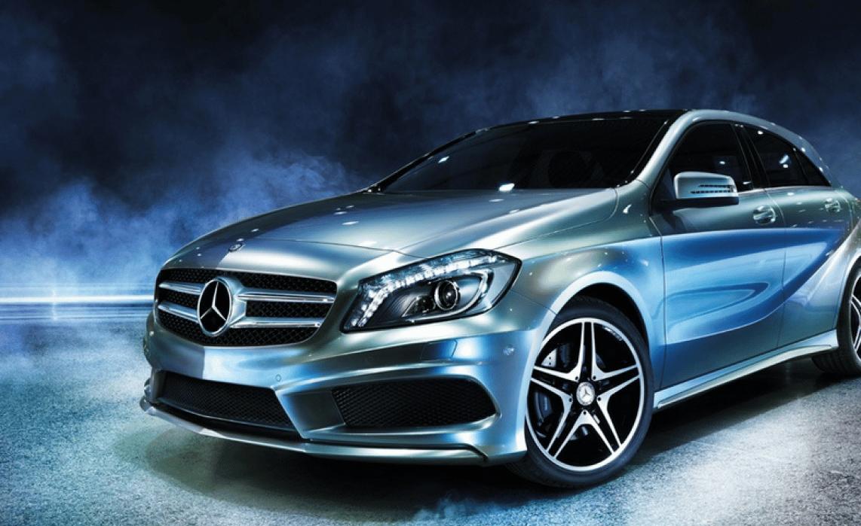Mercedes-Benz A-Class - student project
