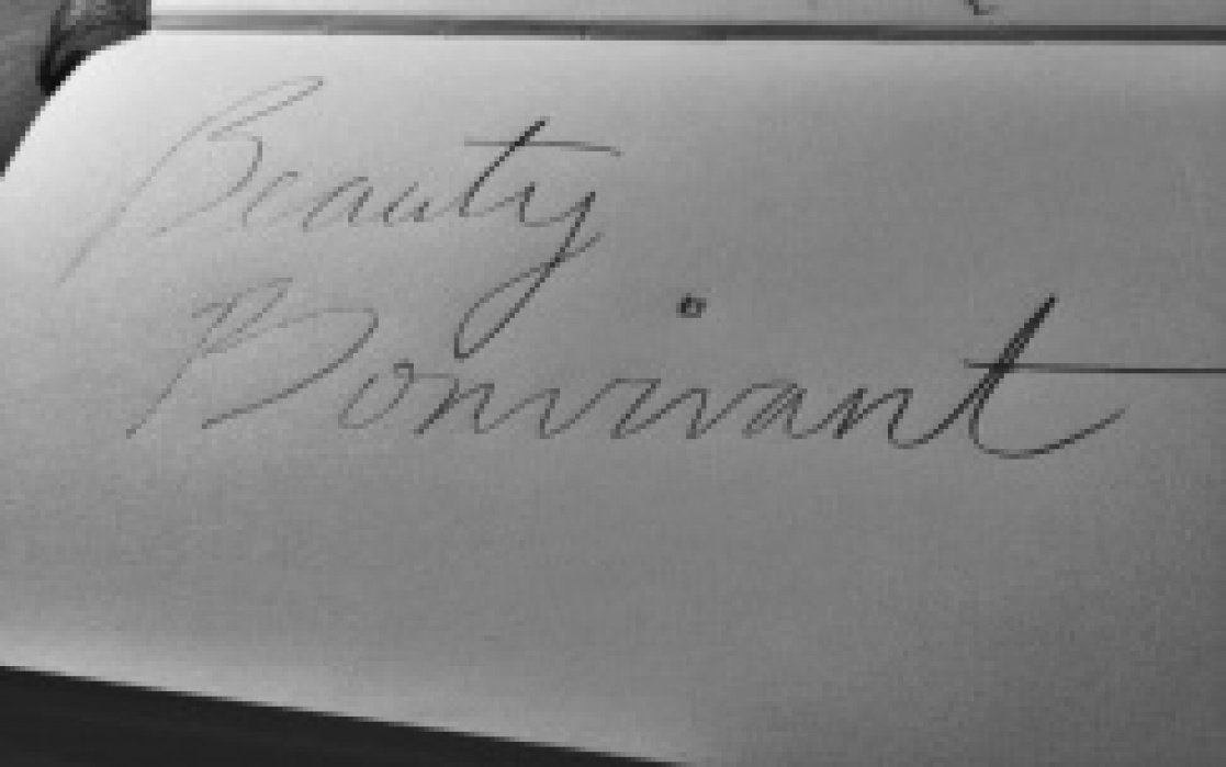 Beauty Bonvivant - student project