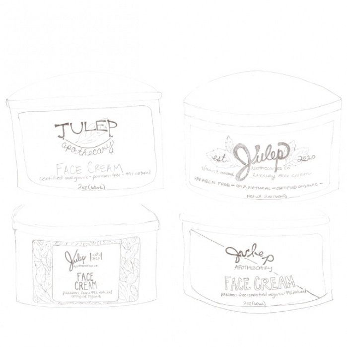 Julep Apothecary - student project