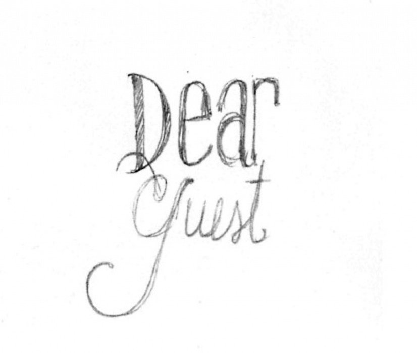 Dear Guest - student project