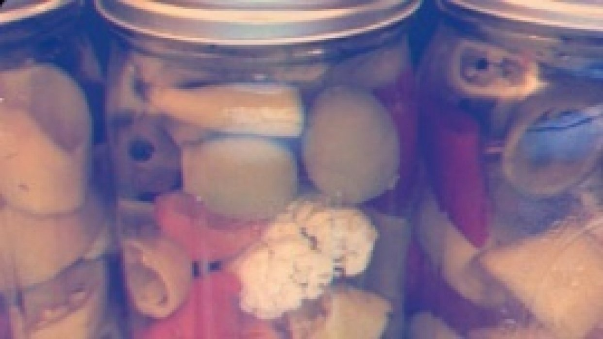 Farmer Todd's Pickled Hot Peppers and Mama Shellie's Zucchini Bread - student project