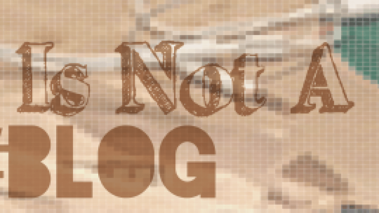 """""""This is Not a  Blog""""  - student project"""