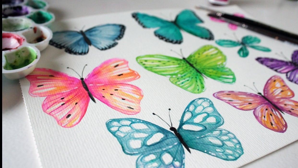 Playful Butterflies - student project