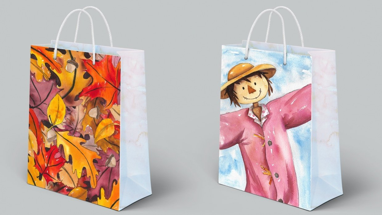 Fall Bags - student project