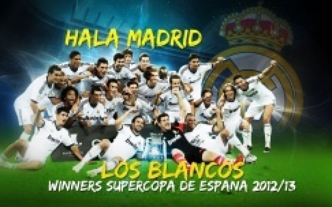 Real Madrid Website - student project