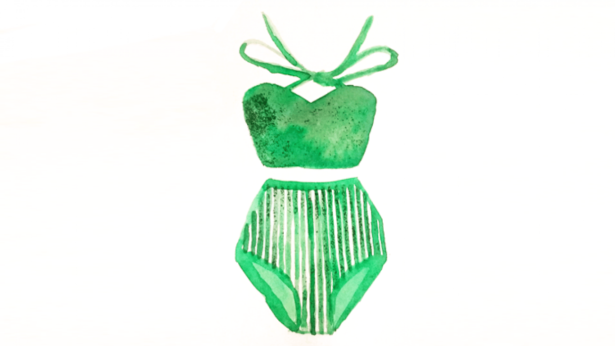 Bathing suit - student project