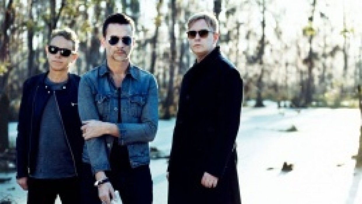 Depeche Mode - student project