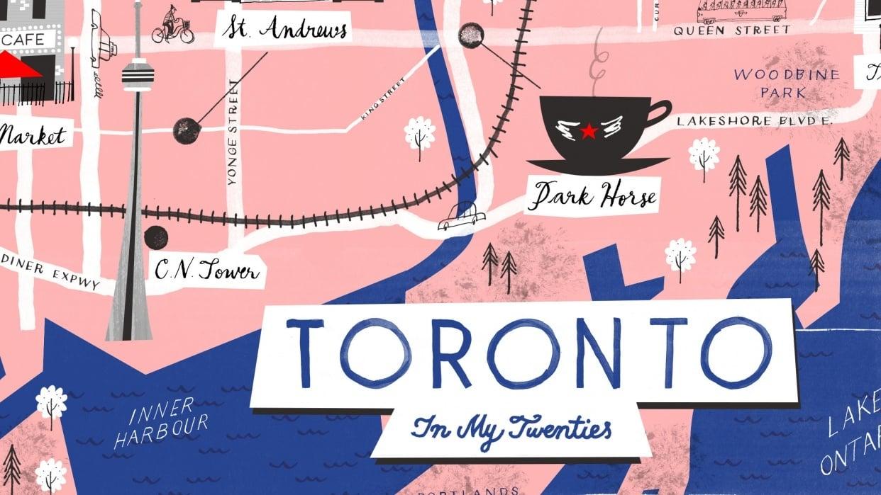 Toronto in My Twenties - student project