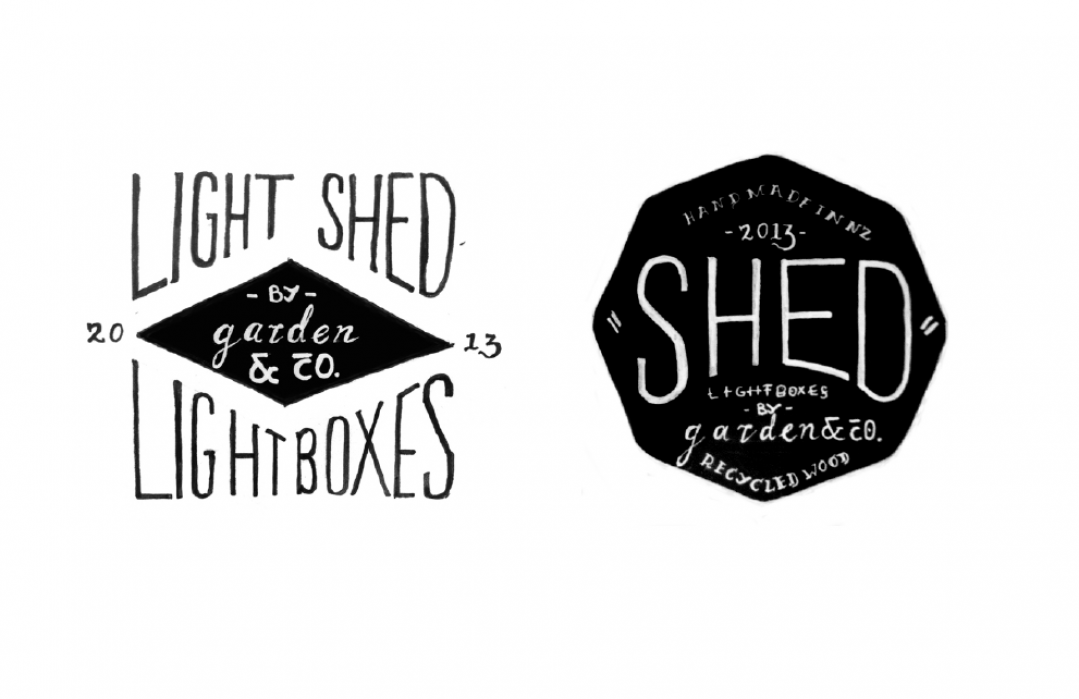 Shed Lightboxes  - student project