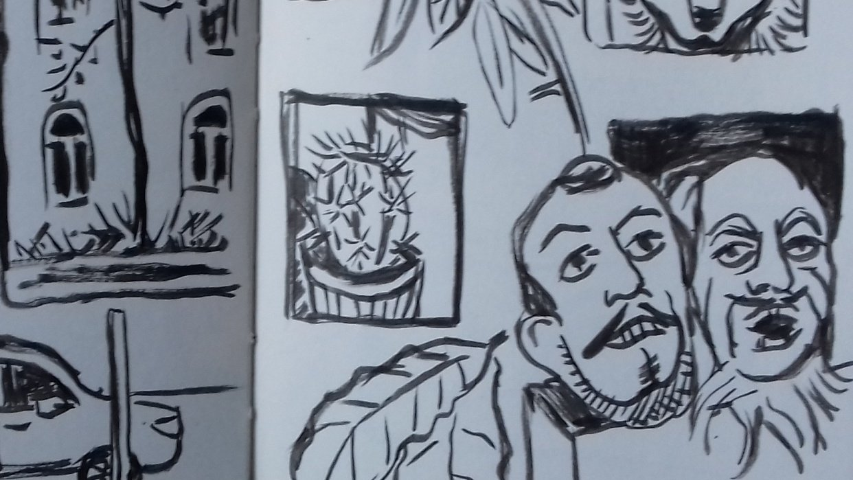 Fast Inking Exercises - student project