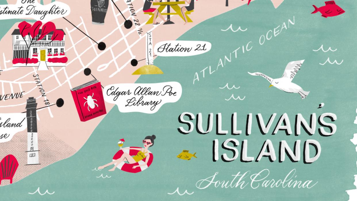 Sullivan's Island, South Carolina  - student project