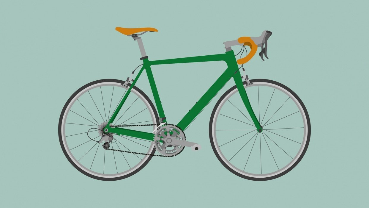 Cannondale Road Bike - student project