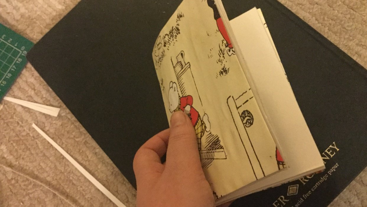 Making my first jotter - student project