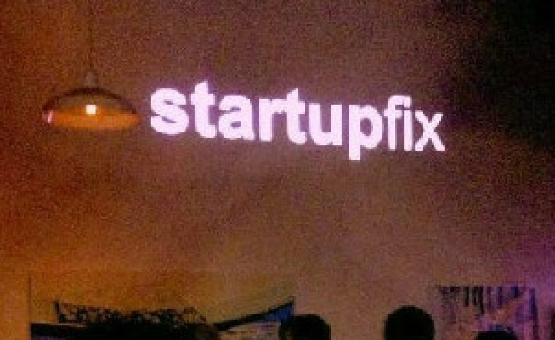 #Startupfix sign up page - student project