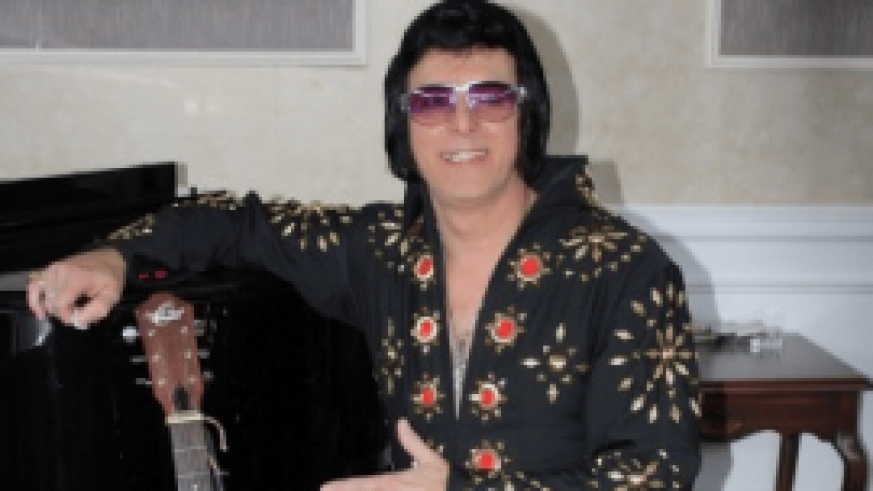 Elvis Lost Brother Photo Booth - student project