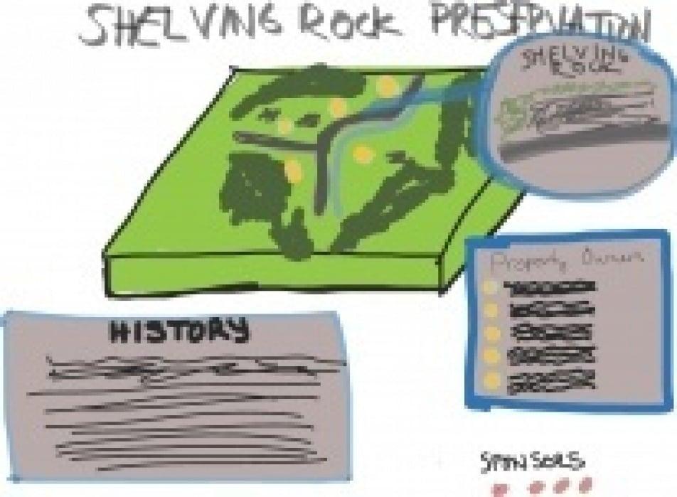Shelving Rock Preservation - student project