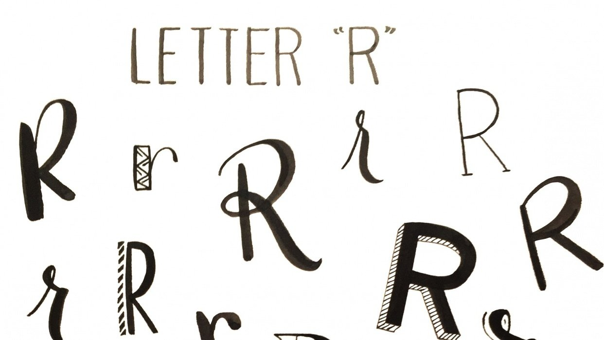 Project for Discover Your Unique Lettering Style - student project