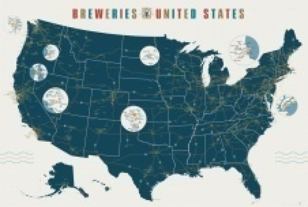 The Irish Craft Beer Hunt Map - student project