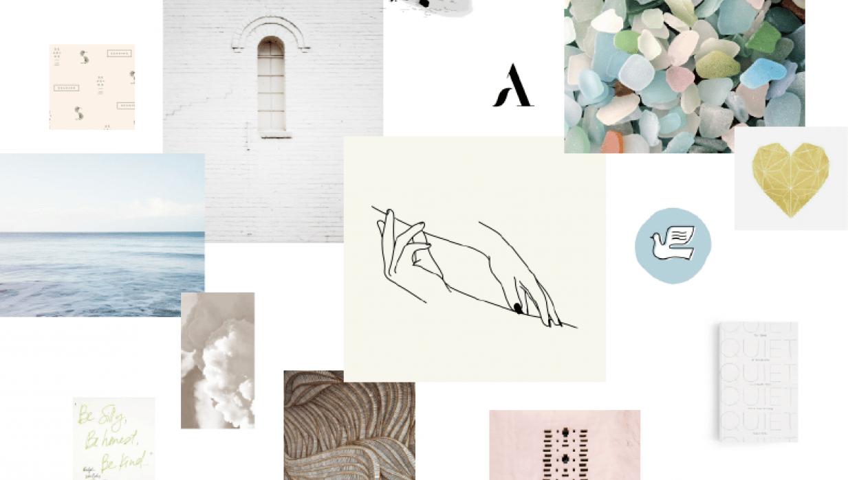 Sample Mood Board - student project
