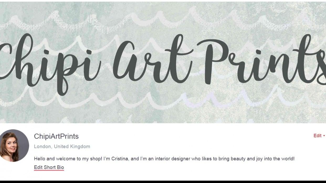 Chipi Art Prints - student project