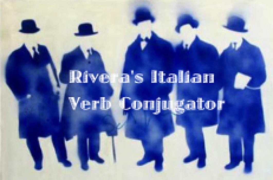 Rivera's Italian Verb Conjugator - student project