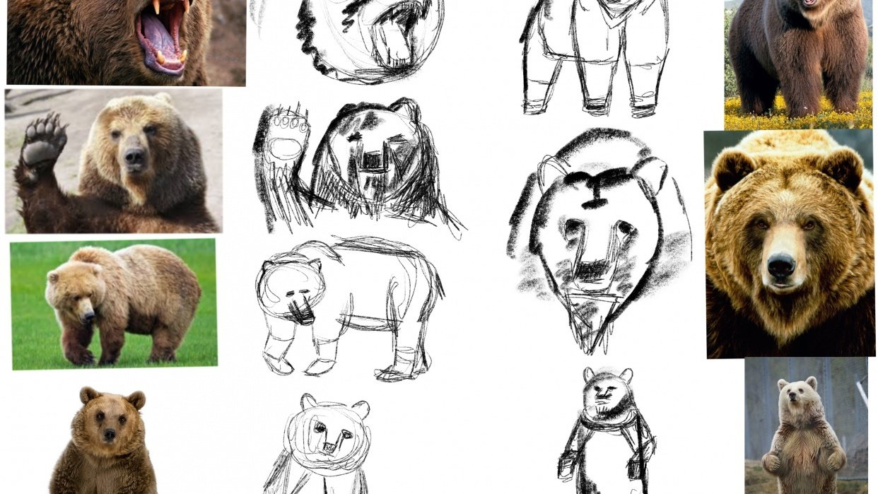 Create Character from animal - student project