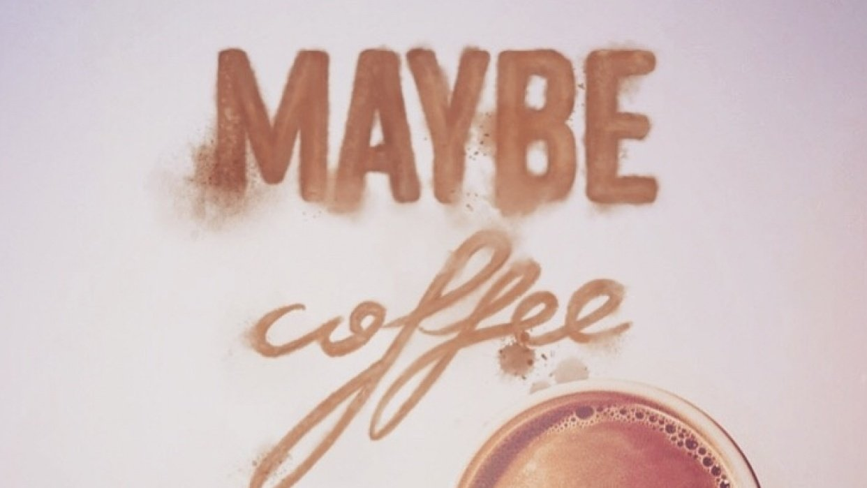 Maybe coffee - student project