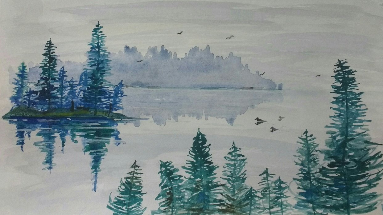Misty Waters - student project