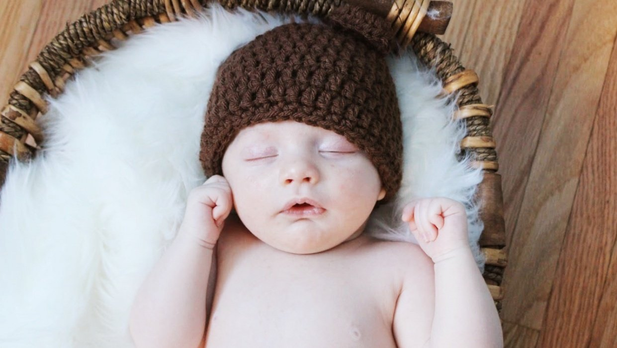 My Nephew's Newborn Photos - student project