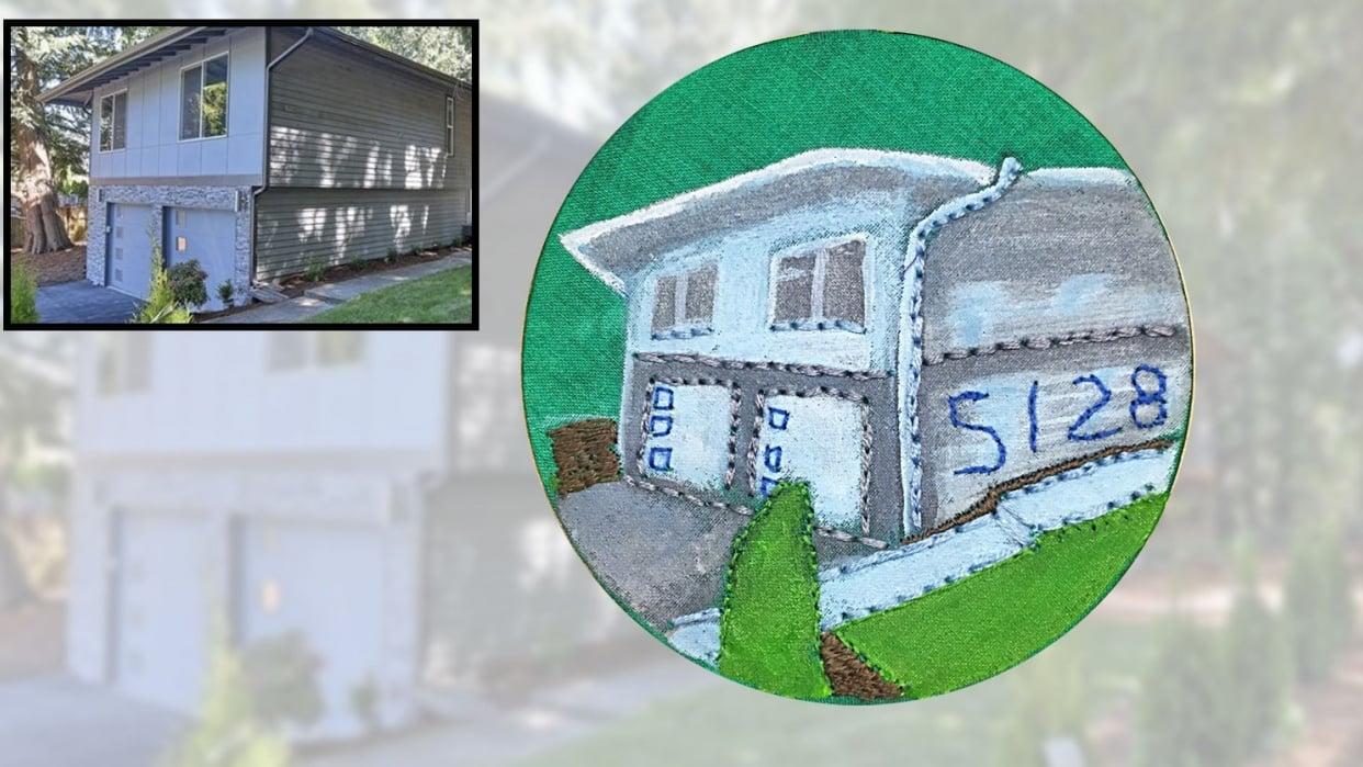 House portrait - student project