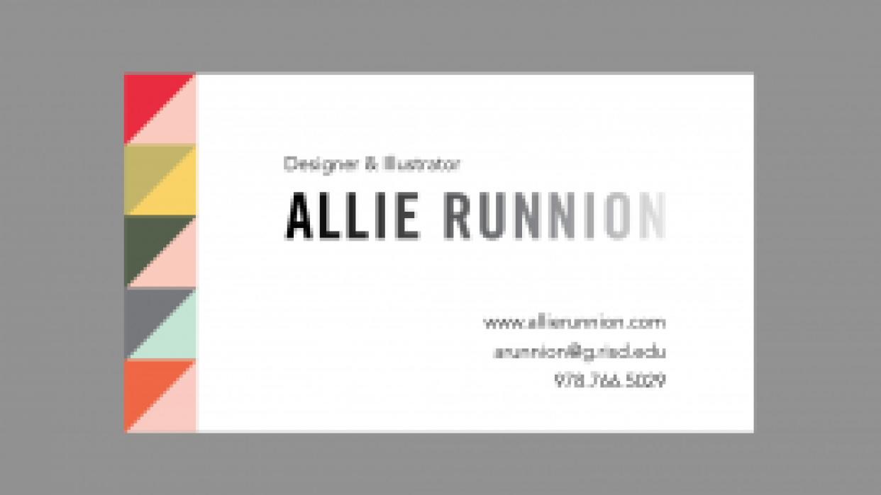 Allie Runnion Design & Illustration - student project