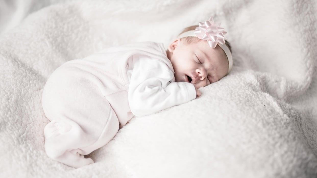 Newborn Girl - student project