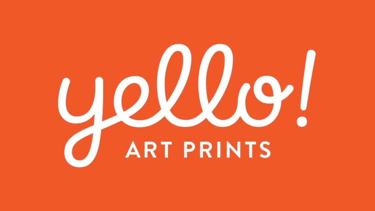 Yello! Art Prints Logotype - student project