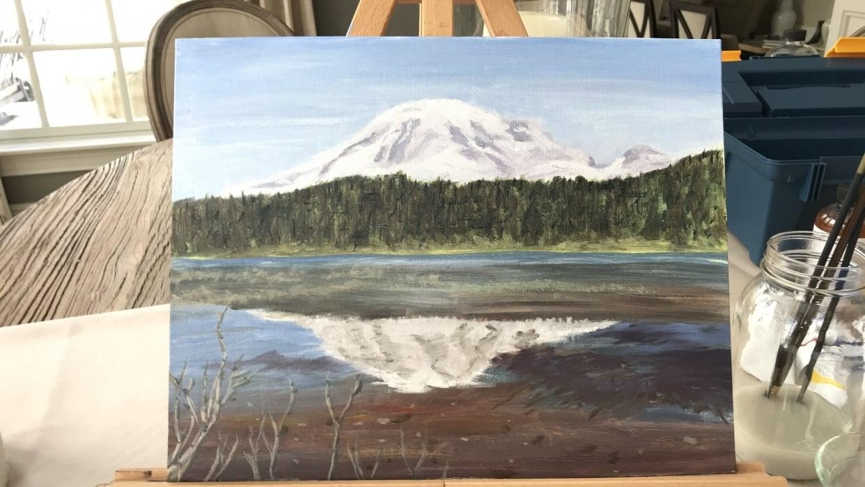 Mt. Rainier - student project