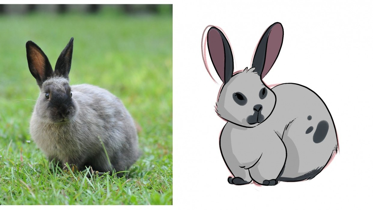 My Cute Bunny! - student project