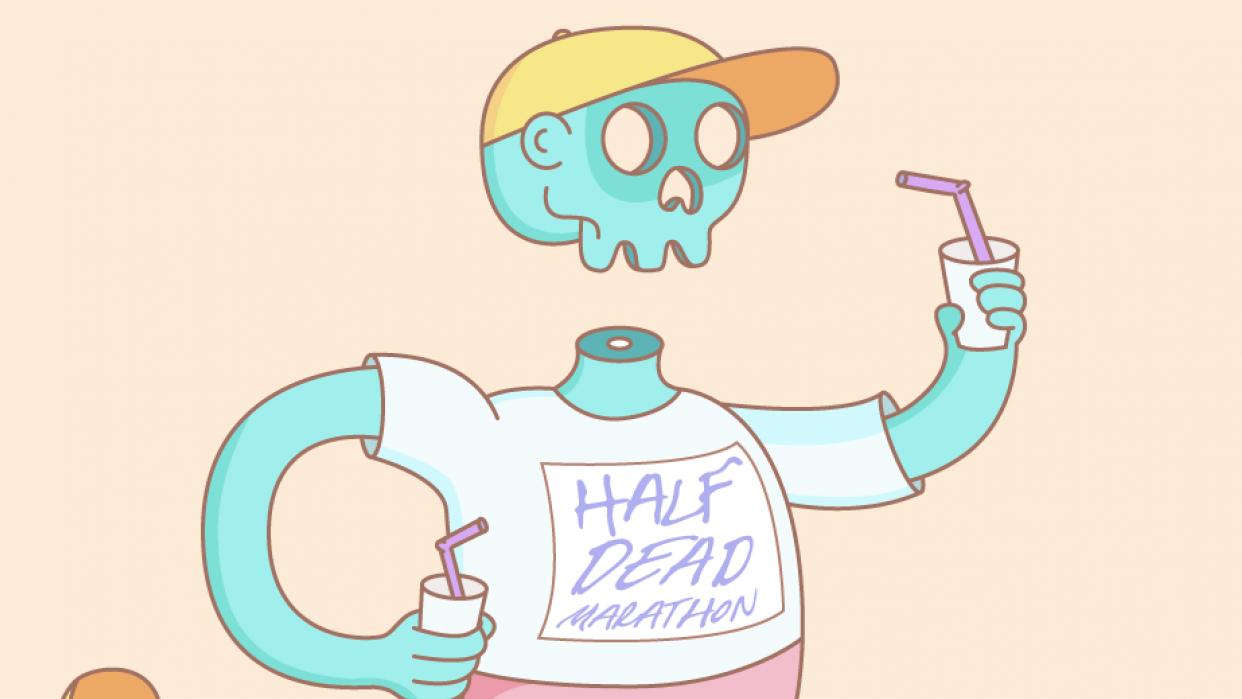 Half Dead Marathon - student project