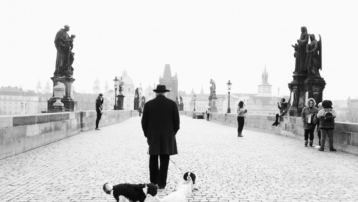 Wandering in Prague - student project