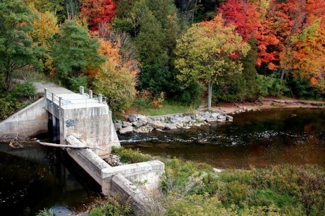 River scene - student project